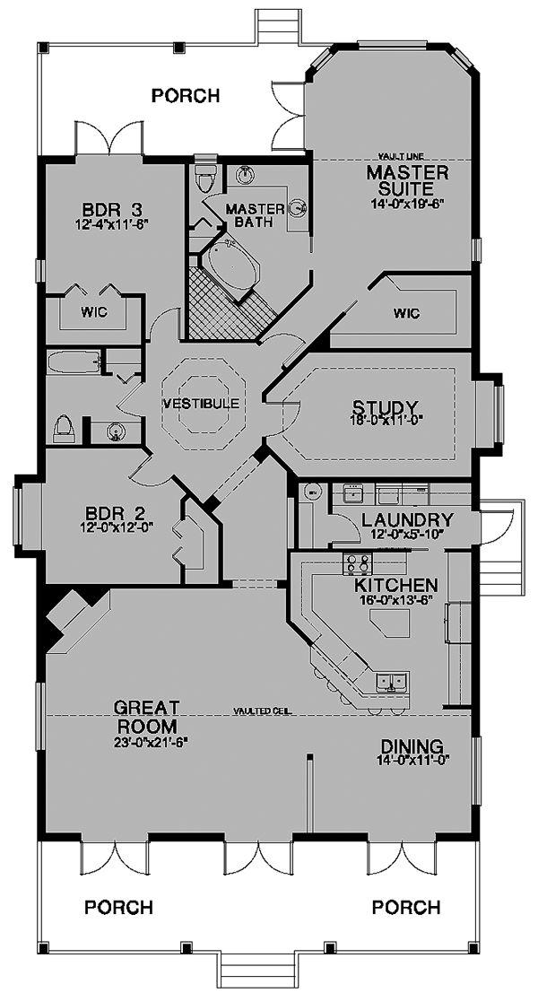 ideas about Barn House Plans on Pinterest   Pole Barn House    Florida Cracker House Plan chp  at COOLhouseplans