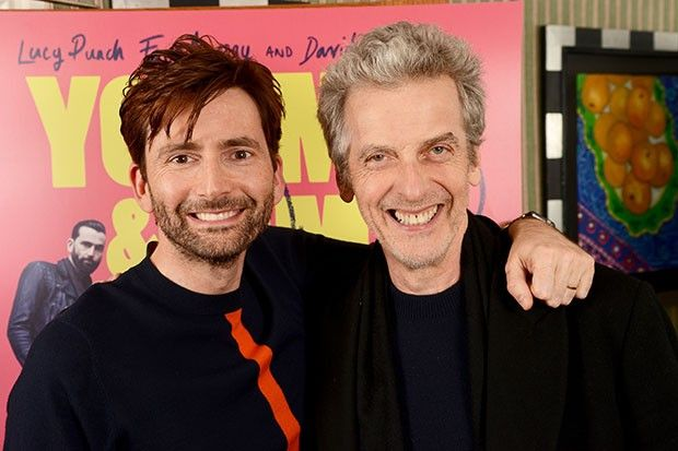 10 12 With Images Doctor Who Peter Capaldi David Tennant