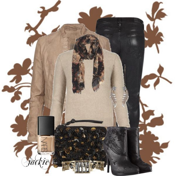 """""""Fall in AllSaints"""" by jackie22 on Polyvore"""