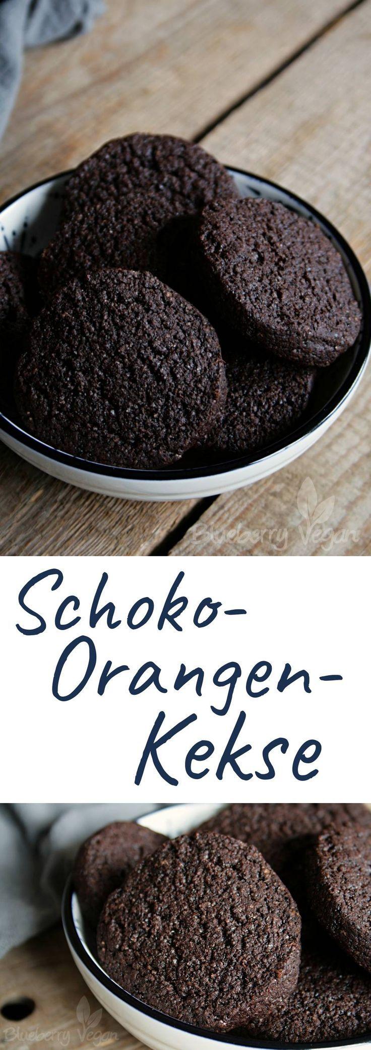 Schoko-Orangen-Kekse vegan