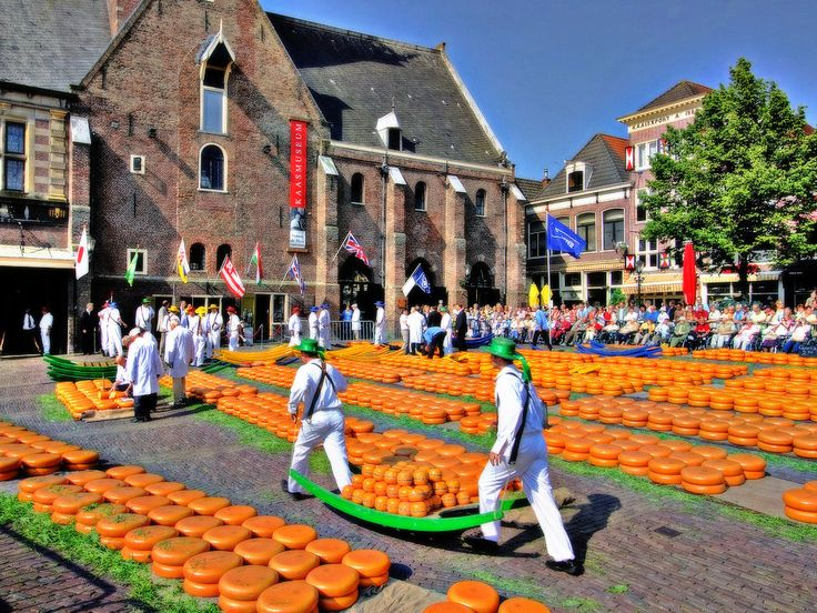 Holland is famous for it's Gouda cheese. Try slicing cheese and fry just 1 slice bread on buttered side and then the cheese side. Yummy!!!!