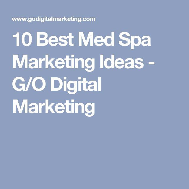 25 beautiful medical spa ideas on pinterest beauty for Salon marketing digital