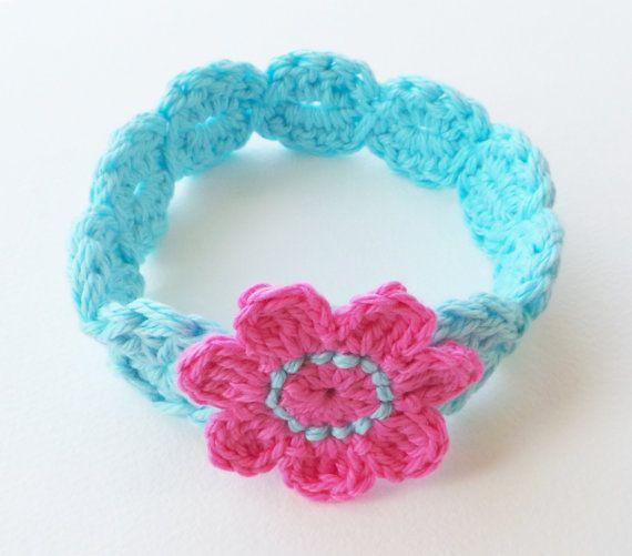 Free Crochet Flower Pattern For Baby Headband : 1000+ ideas about Headband Pattern on Pinterest Fabric ...