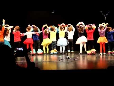 Baile de navidad de los niños de 5 años A - YouTube