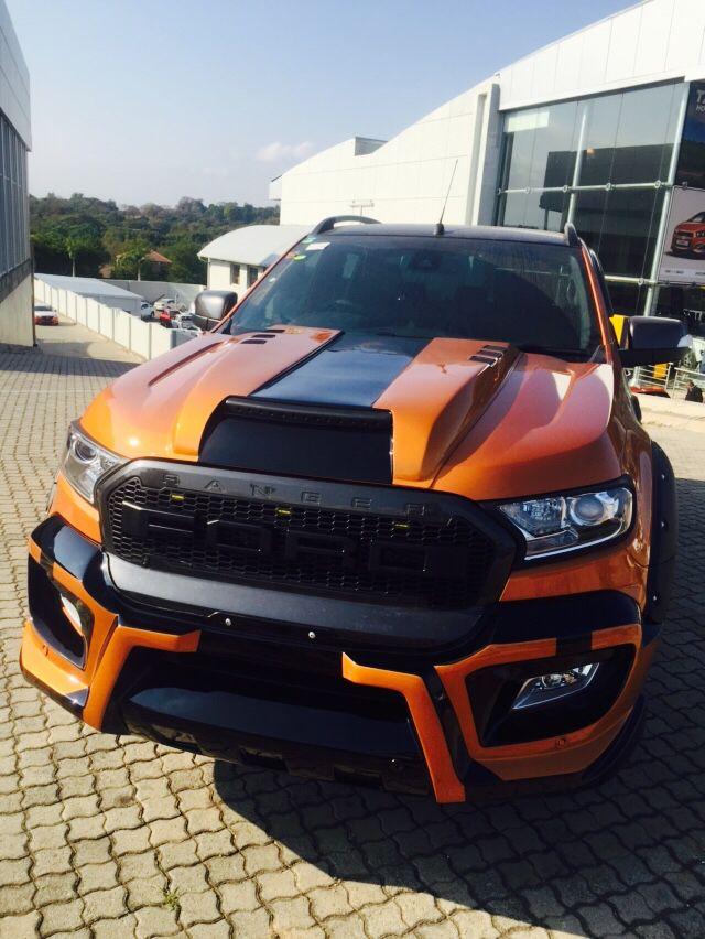 4x4 MegaWorld Nelspruit  Raptor kit on the new Ford Ranger                                                                                                                                                                                 More