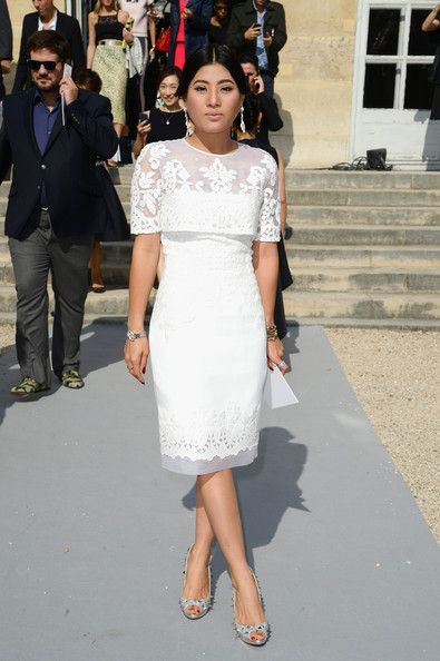 PFW: Arrivals at Christian Dior - Pictures - Zimbio