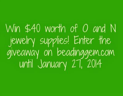 giveaway until 27 January, 2014