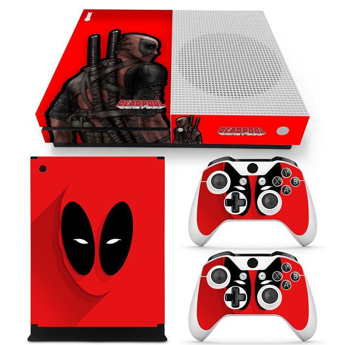 Xbox One S Console Skin Decal Sticker DeadPool Comics Hero Custom Design Set | Video Games & Consoles, Video Game Accessories, Faceplates, Decals & Stickers | eBay!