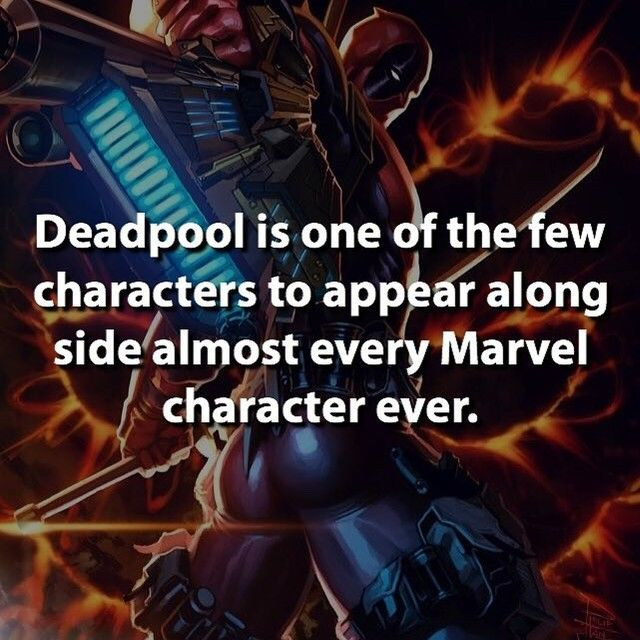 Deadpool is everywhere! I mean he killed the entire universe! You know I love my…