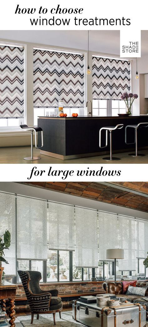25 best ideas about large window treatments on pinterest neutral curtains for the home long. Black Bedroom Furniture Sets. Home Design Ideas