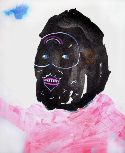 Monster by Ben Edmiston character design black art artist artcitytrip