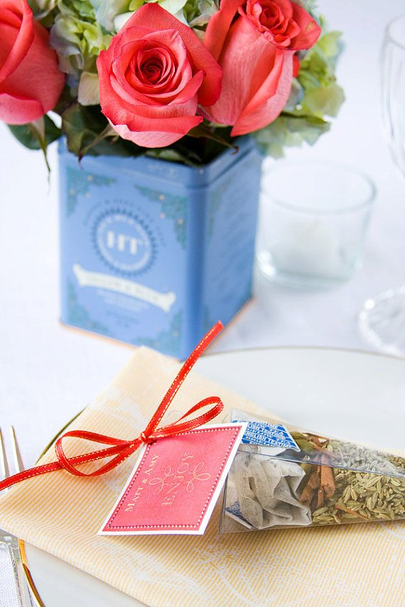 Our new tea spice kit party favors by Dell Cove Spice Co. - the commercial kitchen smelled soooo good with the Chai Tea blend. (Photos by Selena Vallejo Photography in Chicago)
