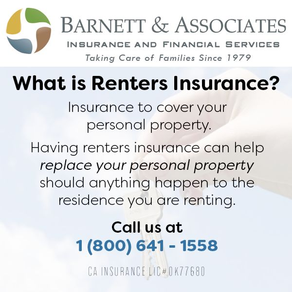case study of renters insurance Renters insurance is very different from homeowners insurance as a renter, you do not own the building therefore you do not need to insure the building however, you do need to insure your personal property and to protect yourself in case there is an accident or incident.