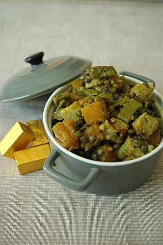 Poêlée de légumes aux lentilles en cocotte IGbas