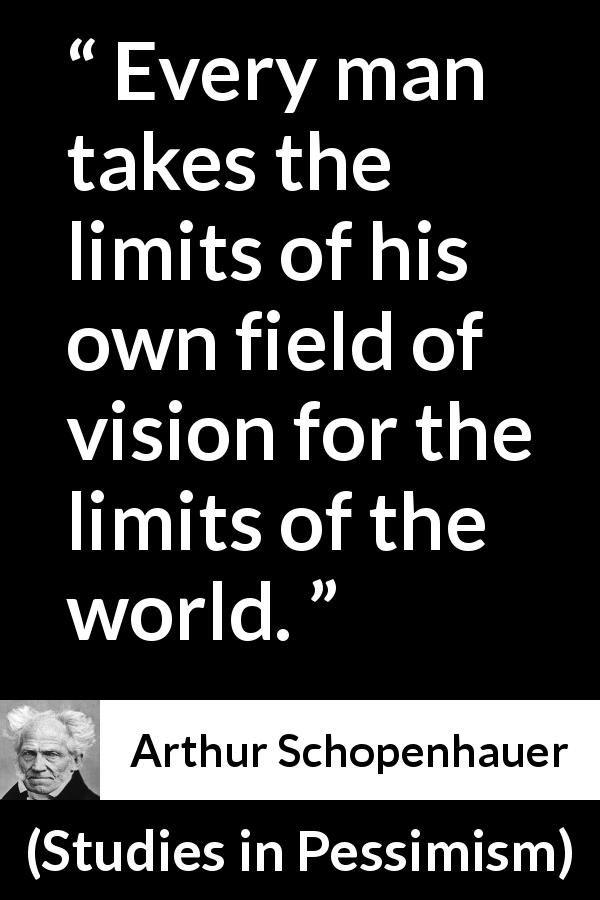 "Arthur Schopenhauer about world (""Studies in Pessimism ..."