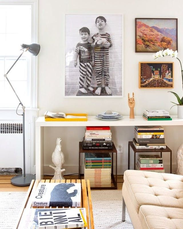 Ideas For Adding A Little Extra Seating To Your Small Living Room Tiny Living Rooms Home Small Living Room
