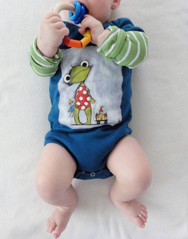 Pelele para bebé - hecho a mano en DaWanda.es