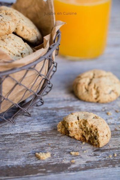 Des cookies tout coco (et pépites de chocolat) - Ingrédients ok