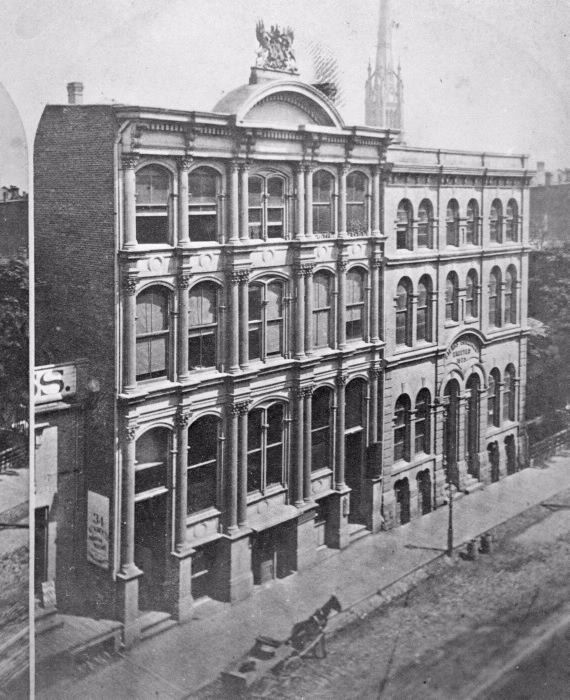 Royal Canadian Bank, Front St. E., n. side, e. of Scott St. 1877.