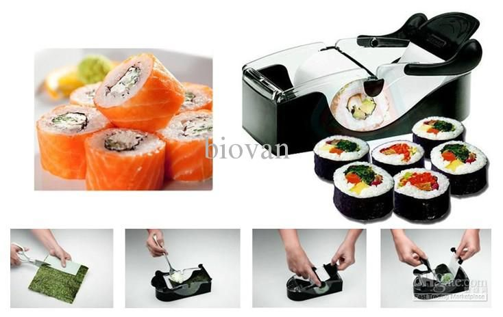 Wholesale Sushi Tools - Buy Easy Onigiri Roll Ball Sushi Maker Magic Cutter Roller Rice Mold Japanese Tool, $12.04 | DHgate