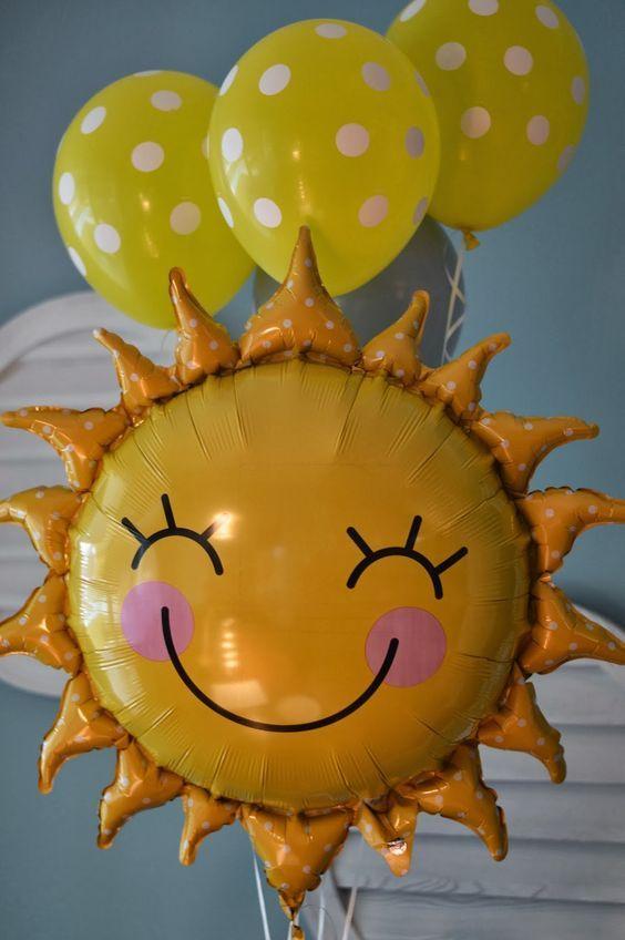 Sunshine Birthday Party Theme Decorations! #birthday #party #sunshine