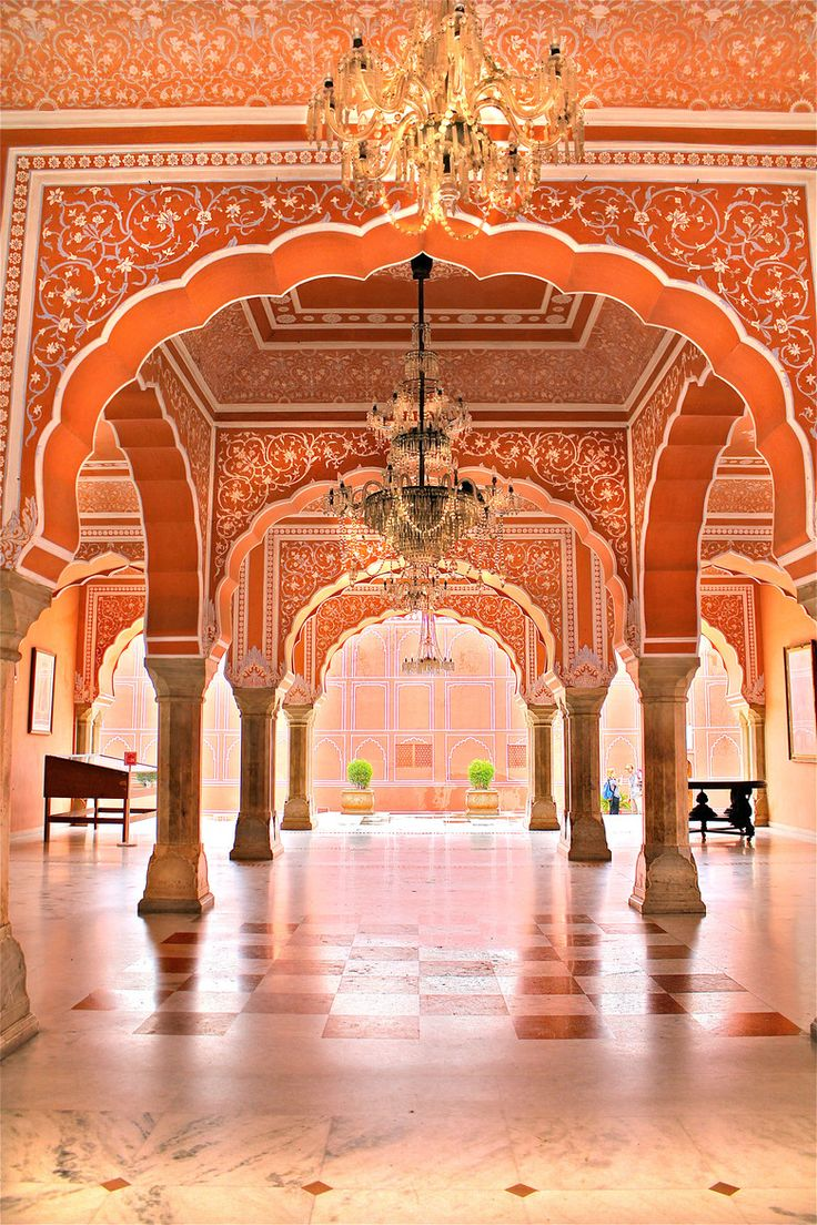 Fairy Tale Palace in Delhi, India
