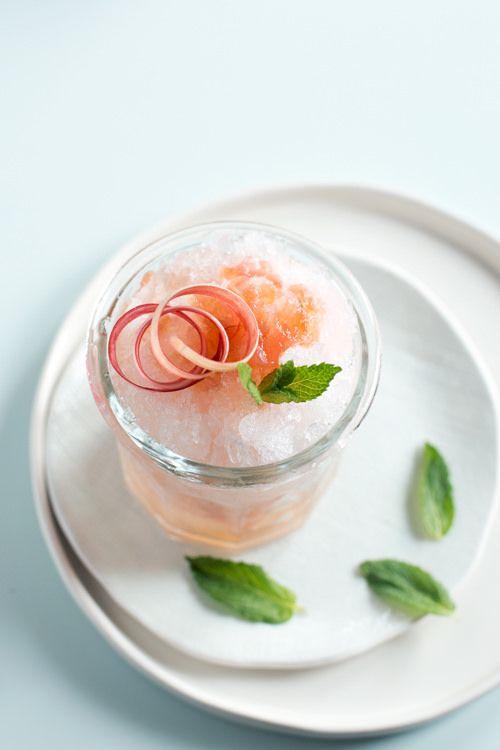 Rhubarb Mint Julep