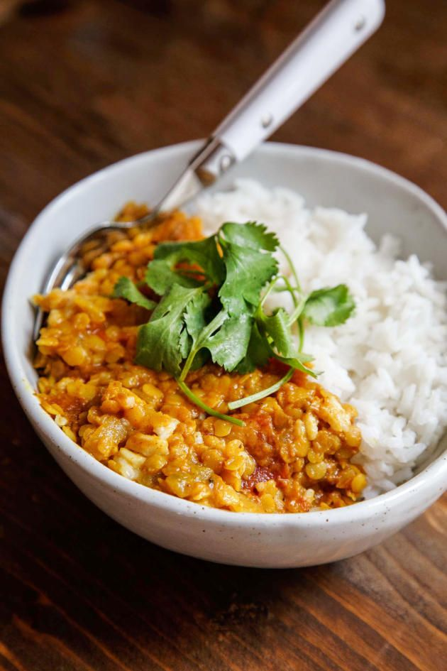 Indian Dahl fill your house with the most aromatic spices you'll ever encounter. Just gorgeous.