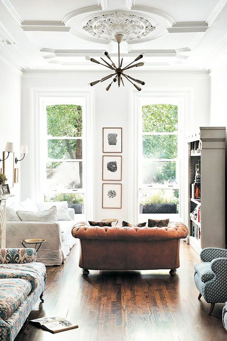 How to Get That Cool Brooklyn Brownstone Style at Home via @MyDomaineAU
