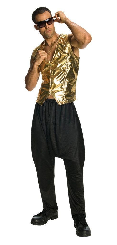 Old School Rapper Costume Shades 80'S Glasses Black
