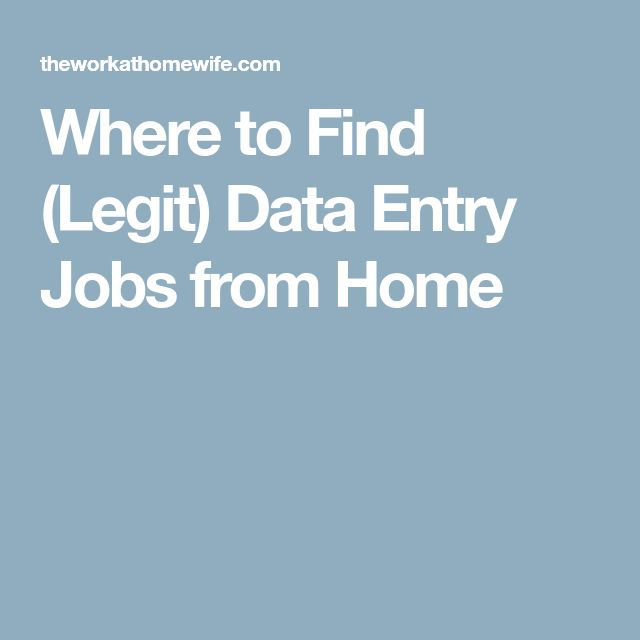 The 25+ best Data entry job ideas on Pinterest Data entry from - data entry job description