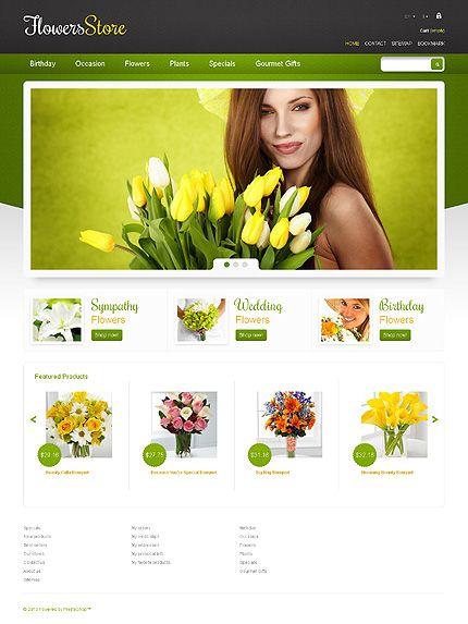 Flowers Store PrestaShop Theme #website http://www.templatemonster.com/prestashop-themes/44922.html?utm_source=pinterest&utm_medium=timeline&utm_campaign=flow