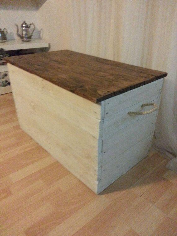 Standard Size Nordic Rustic Storage Chest / By TimberWolfFurniture · Big Boy  ...