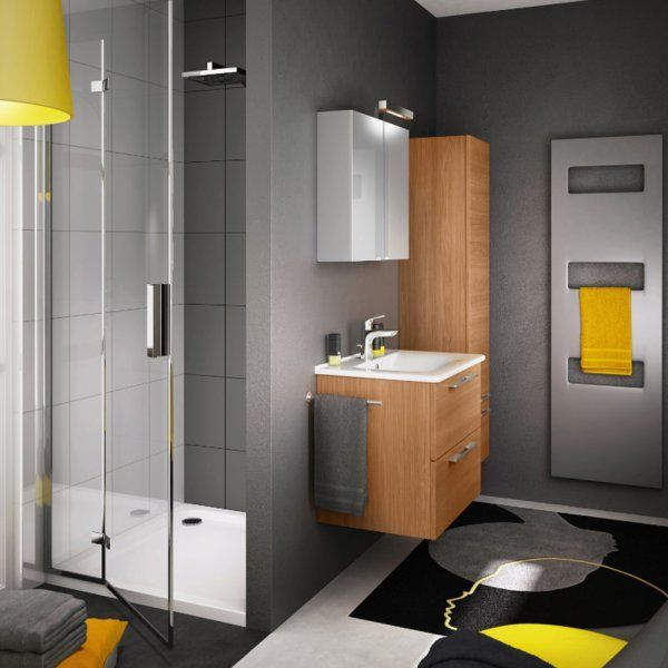 25 best ideas about salle de bain 5m2 on pinterest tr s. Black Bedroom Furniture Sets. Home Design Ideas