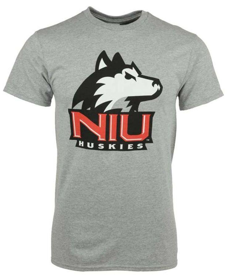 J America Men's Northern Illinois Huskies Big Logo T-Shirt
