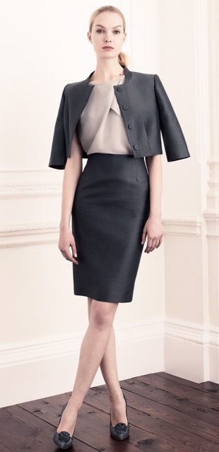 Feminine & powerful by Hobbs  #workwear #officefashion