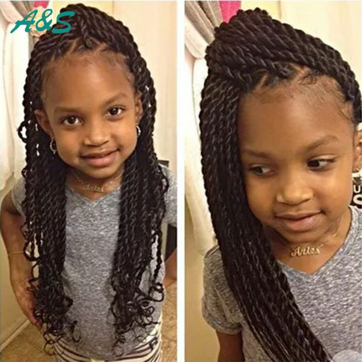 "Cute crochet braids hair extension thin senegalese twist crochet hair extensions for kids teenagers 18"" 70g/pack silk kanekalon -in Hair Weaves from Hair Extensions & Wigs on Aliexpress.com 
