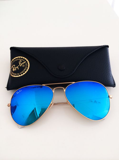 ray bans sunglasses blue  blue mirrored ray bans. sunglasses