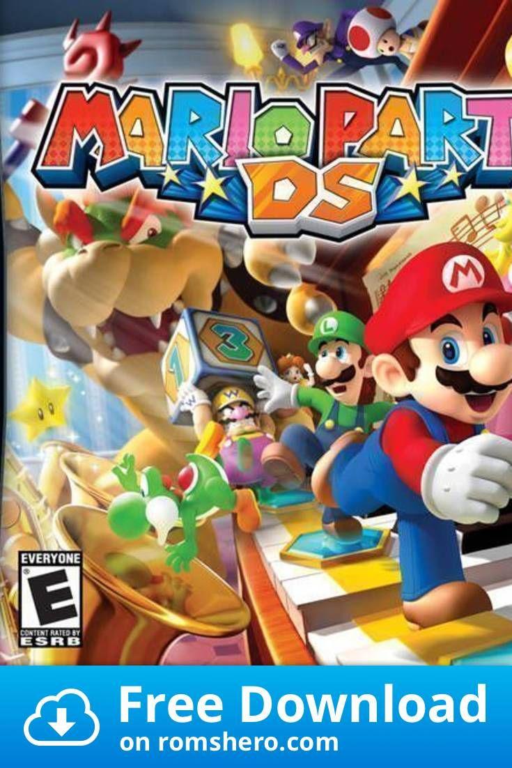 Download Mario Party Ds Micronauts Nintendo Ds Nds Rom Nintendo Ds Mario Party Mario