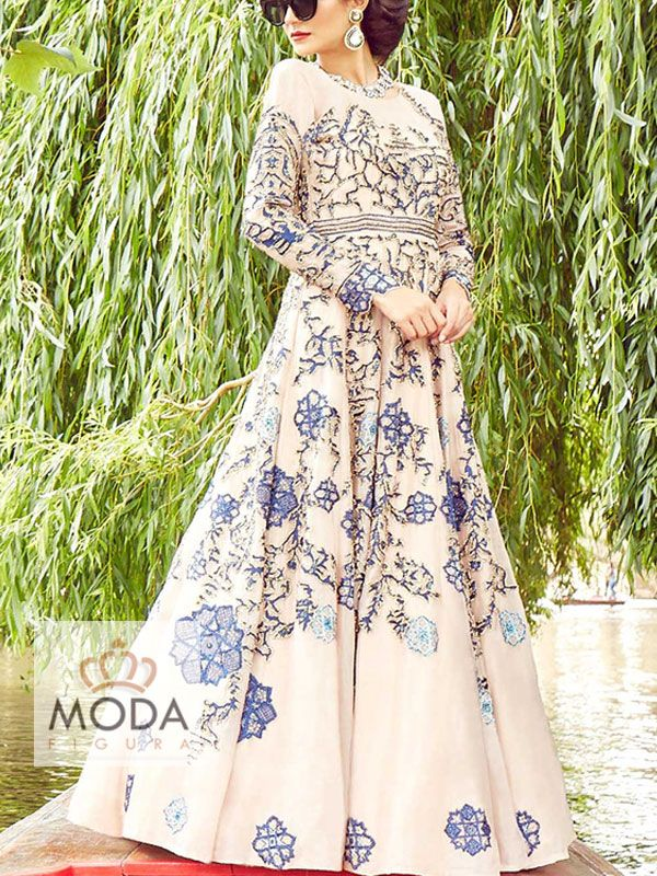 Latest Indian designer gown. Organza Indian gown collection. Made to measure indo western gowns