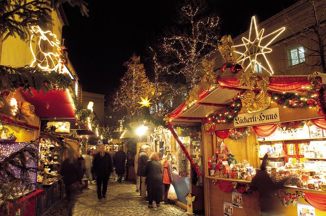 Christmas Market in Basel, Switzerland: