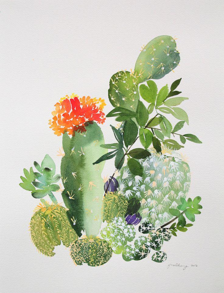 Decorar con cactus puede resultar ideal para dar un toque de frescor en casa.Te damos las claves para conseguirlo.