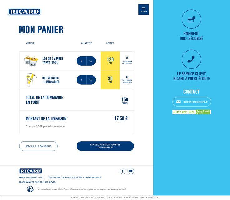 Ricard - Panier