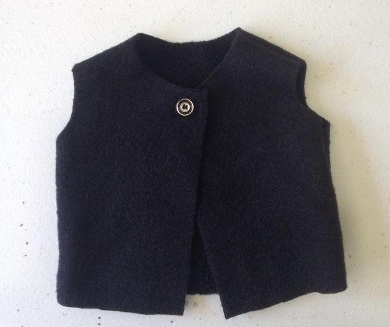 Vest of microfibre polar fleece in a style suitable by TangledKat
