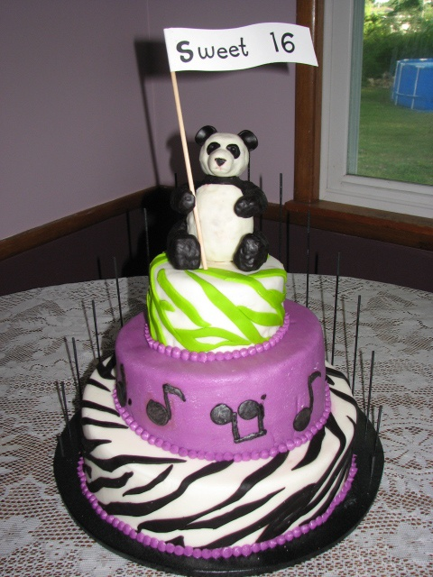 18 Best Sweet 16 Birthday Cakes By Party Flavors Images On