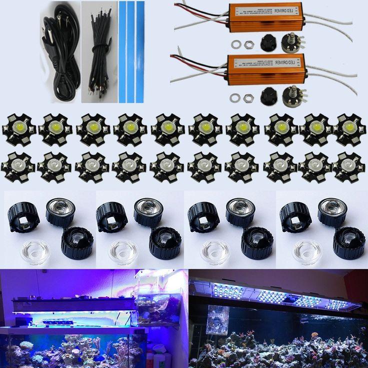 39.99$  Buy now - https://alitems.com/g/1e8d114494b01f4c715516525dc3e8/?i=5&ulp=https%3A%2F%2Fwww.aliexpress.com%2Fitem%2FDimmable-DIY-aquarium-led-light-60W-20-3W-good-for-coral-reef-tank-lighting-high-quality%2F1425678921.html - 30W 60W 90W 120W 150W DIY Led Aquarium Light Kit (20*3W) for coral reef tank Dimmable Led Lighting 39.99$