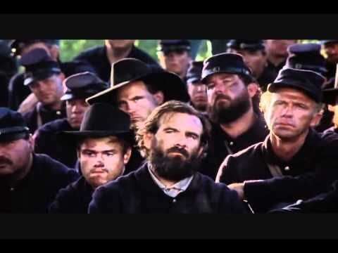 Colonel Joshua Chamberlain Speech.wmv  I saw this movie when I was 12 years old. This speech has molded me in life and I think a lot of people need to take it to heart.