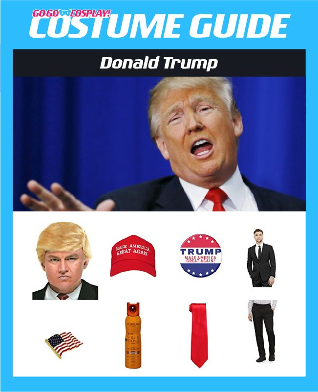 DIY Donald Trump Costume Guide
