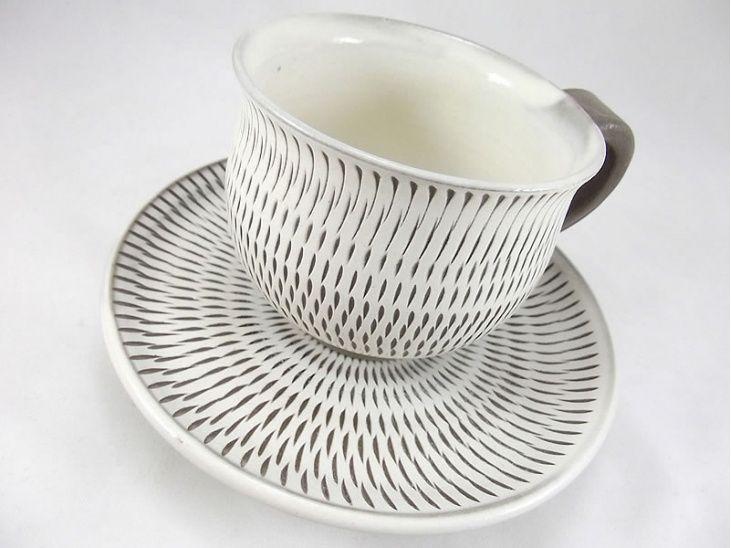 コーヒーカップセット|カップ・コーヒー|おんた家|小鹿田焼の器、お皿、丼、湯呑み、茶碗などの通販サイト