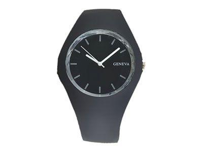 Relógio feminino  casual em  silicone